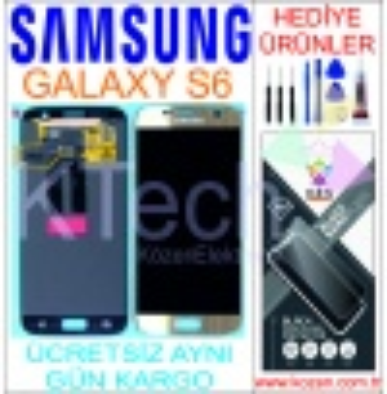 SAMSUNG GALAXY S6 (G920F) LCD DOKUNMATİK ORJİNAL REVİZE EKRAN