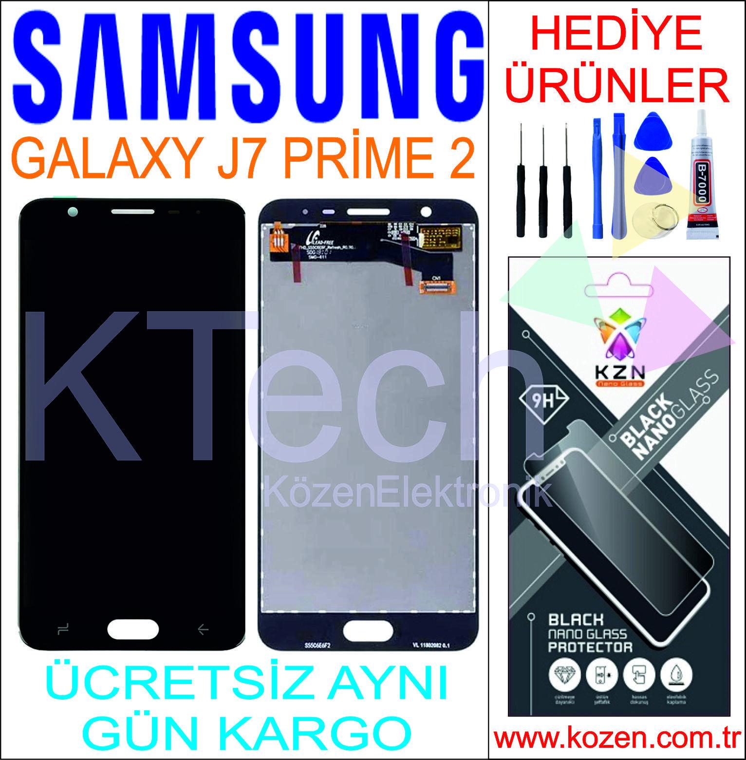 SAMSUNG GALAXY J7 PRİME 2 (G611F) LCD DOKUNMATİK ORJİNAL REVİZE EKRAN