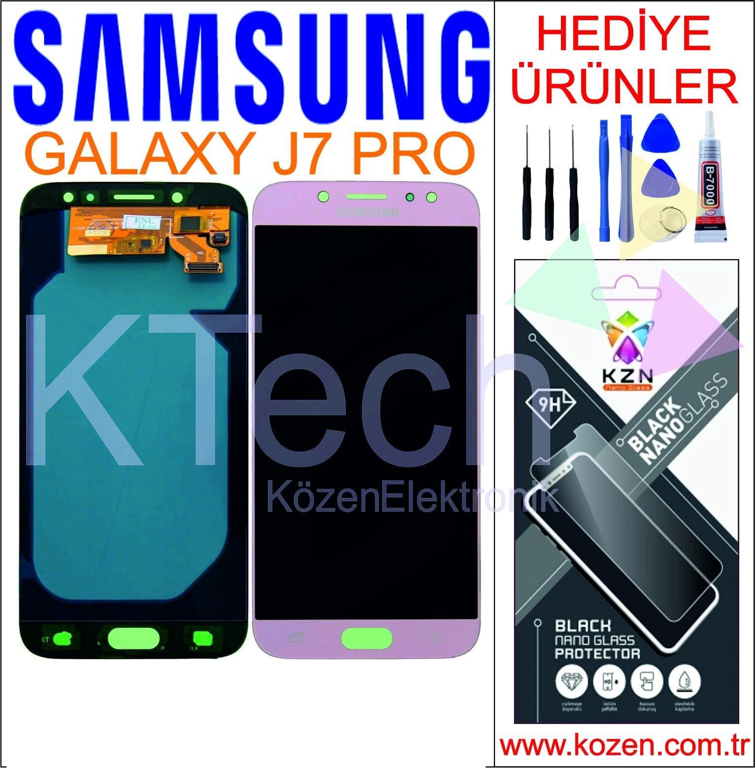 SAMSUNG GALAXY J7 PRO (J730F) LCD DOKUNMATİK AA KALİTE DEMİRLİ EKRAN