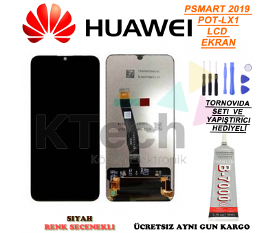 Huawei P SMART 2019 POT-LX1 LCD Ekran ve Dokunmatik