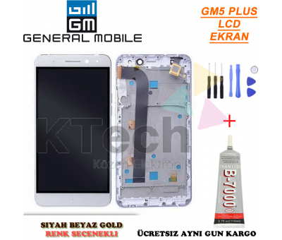General Mobile GM5 Plus LCD Dokunmatik Ekran