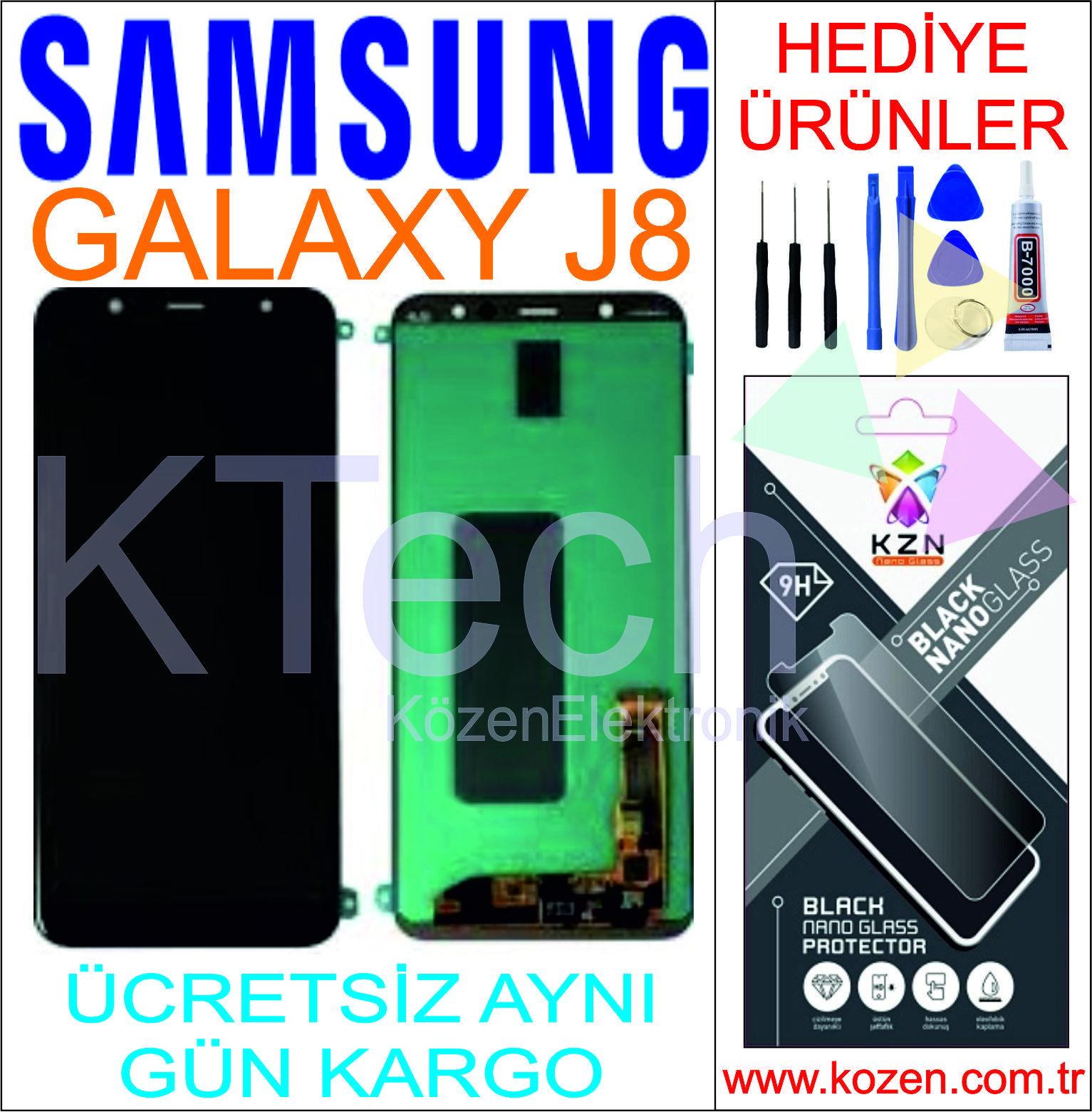 SAMSUNG GALAXY J8 (J810F) LCD DOKUNMATİK ORJİNAL REVİZE EKRAN