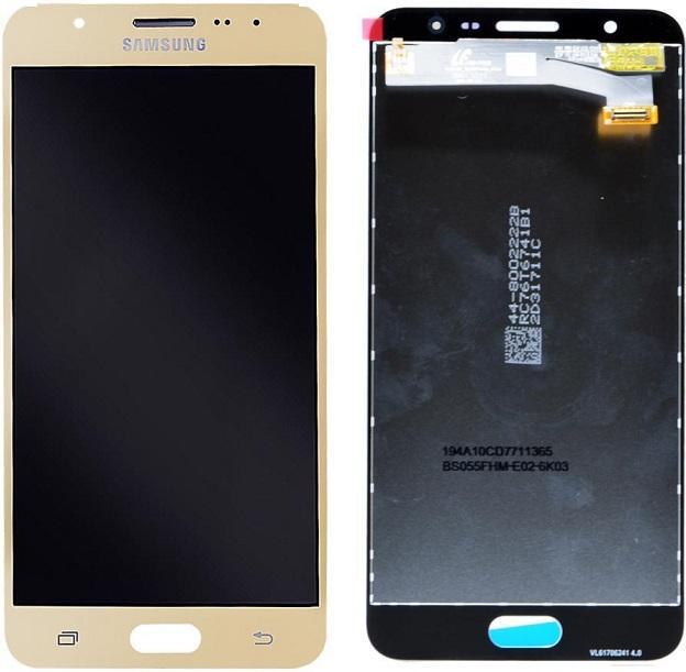 SAMSUNG GALAXY J7 PRİME (G610F) LCD DOKUNMATİK ORJİNAL REVİZE EKRAN