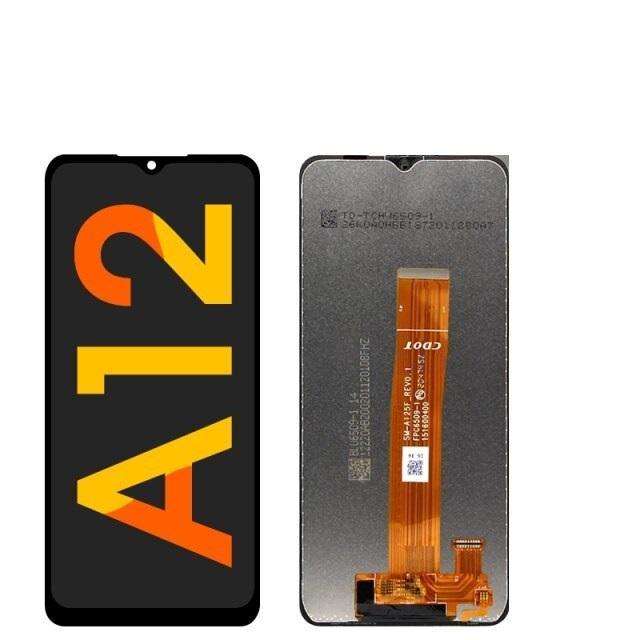 SAMSUNG GALAXY A12 (A125) LCD DOKUNMATİK ORJİNAL REVİZE EKRAN