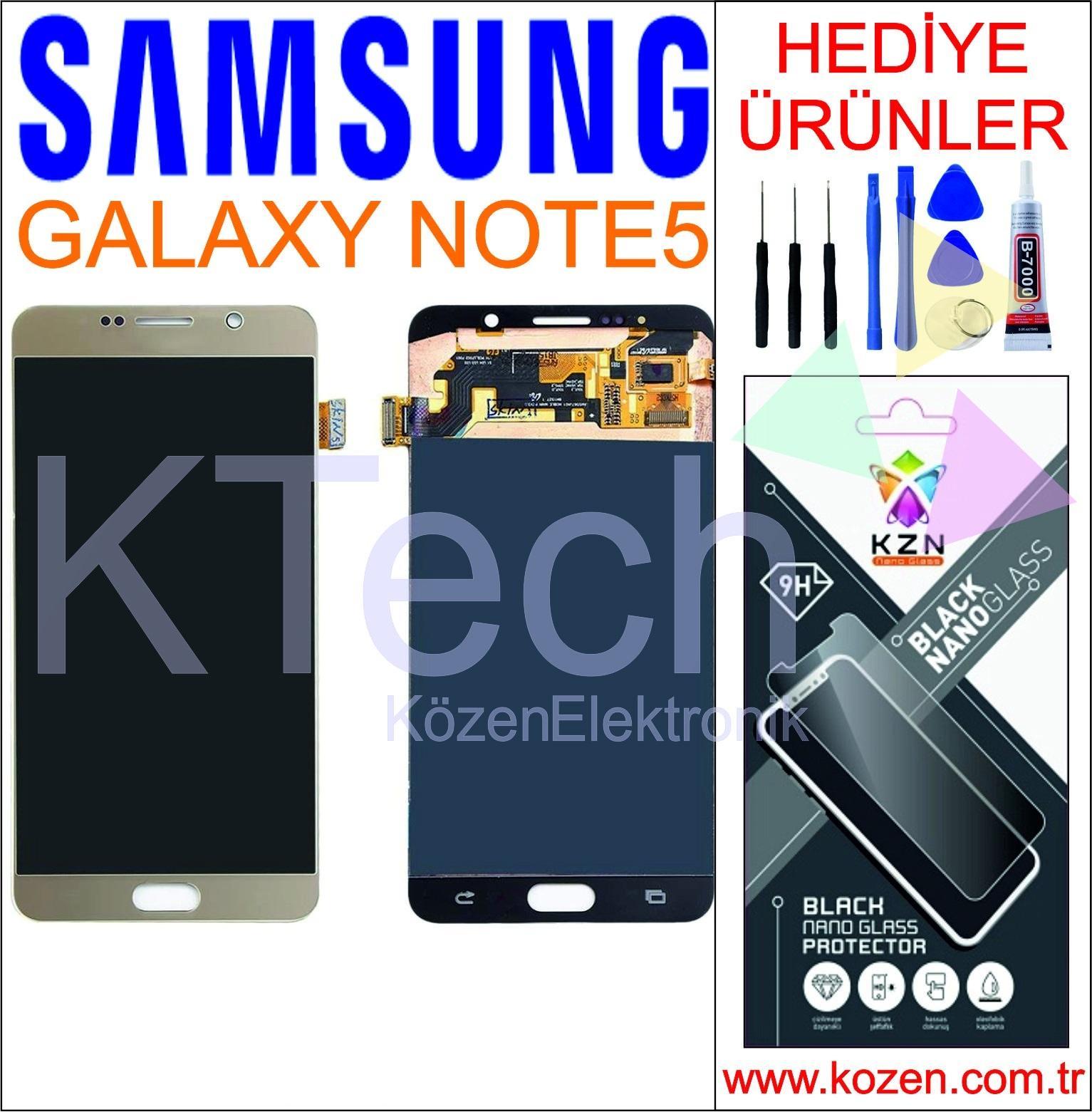 SAMSUNG GALAXY NOTE 5 (N920) LCD DOKUNMATİK ORJİNAL REVİZE EKRAN