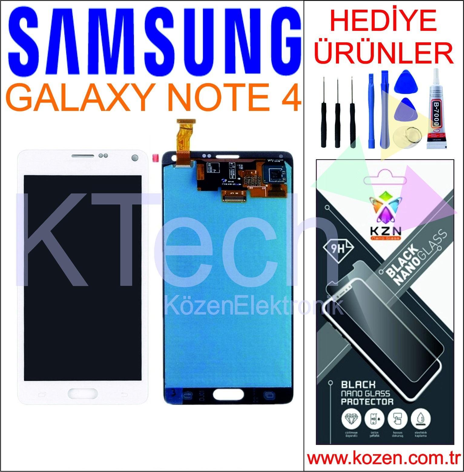 SAMSUNG GALAXY NOTE 4 (N910F) LCD DOKUNMATİK ORJİNAL REVİZE EKRAN