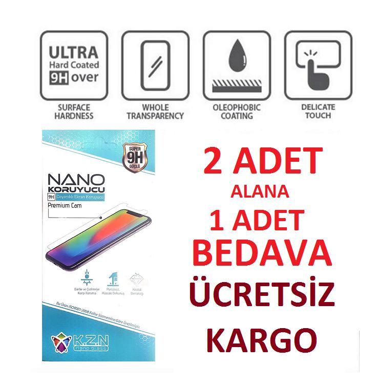 IPHONE X Arka Kapak için Nano Cam Koruyucu 9H
