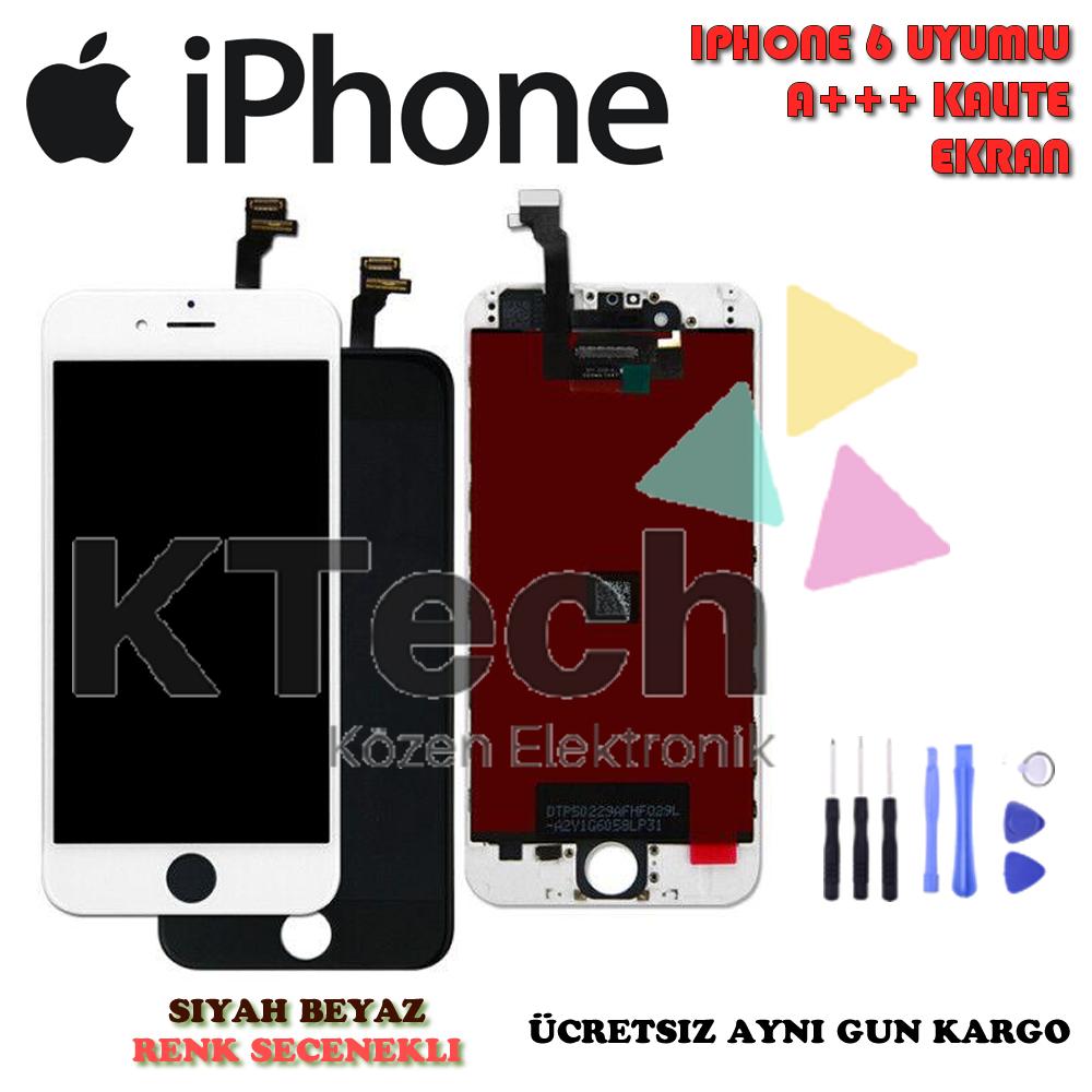 iPhone 6 LCD Ekran ve Dokunmatik A Kalite 6G