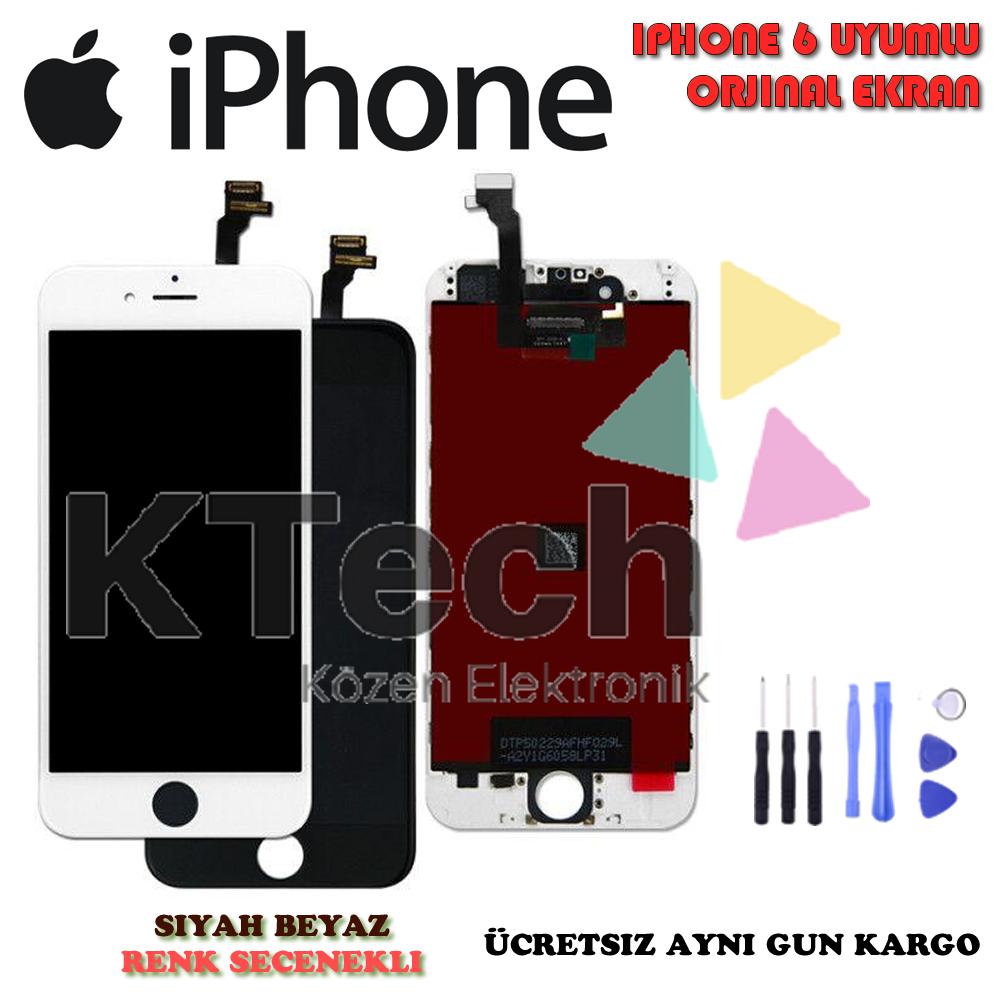 iPhone 6 LCD Ekran ve Dokunmatik Orjinal