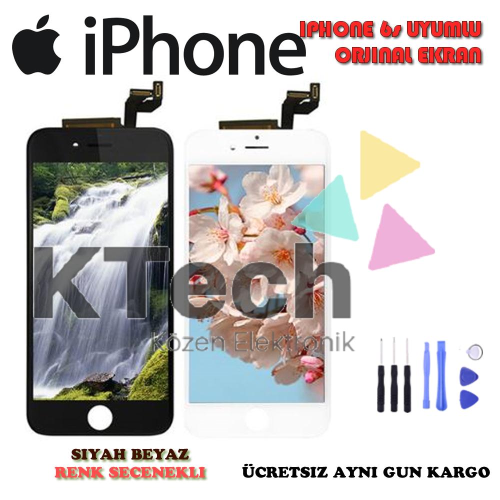 iPhone 6S LCD Ekran ve Dokunmatik Orjinal