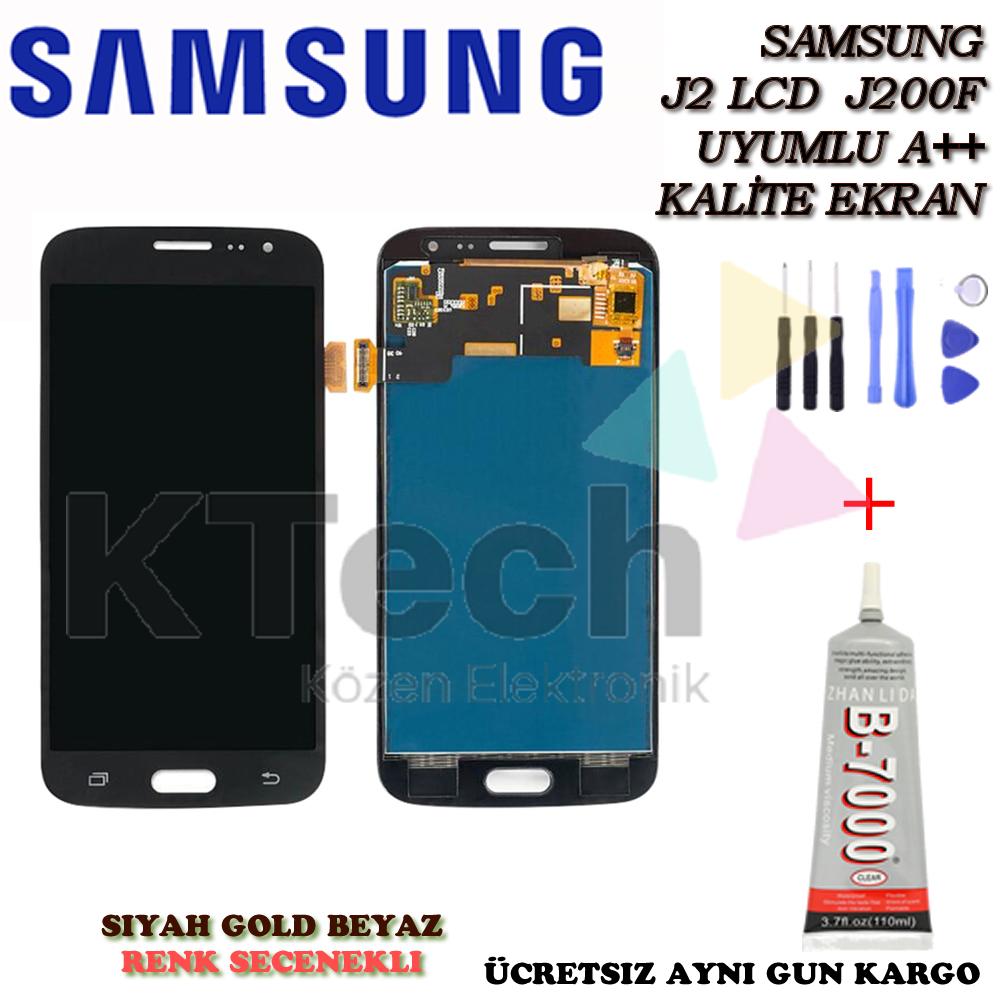 Samsung Galaxy J2 J200 2015 LCD Ekran ve Dokunmatik AA Kalite