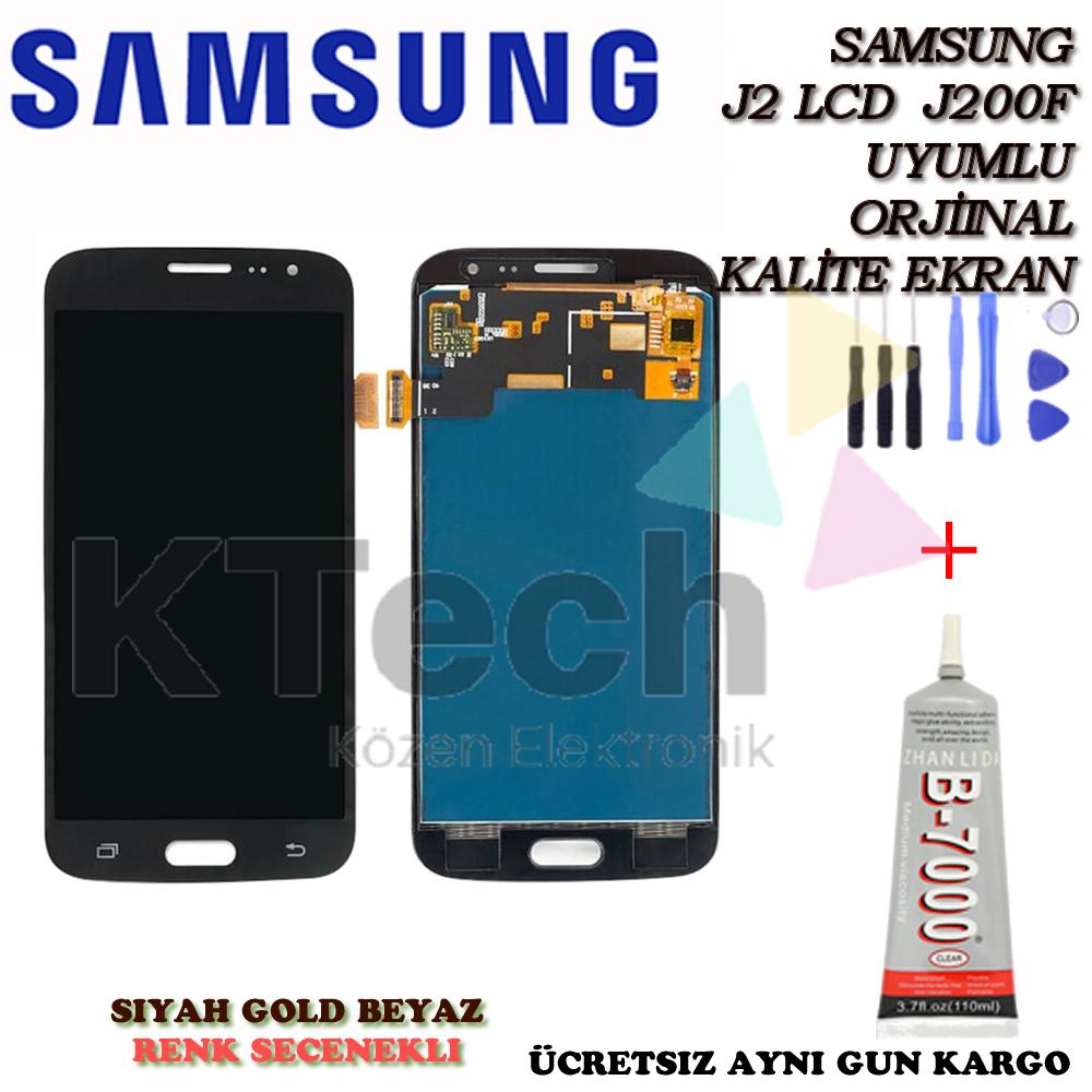 Samsung Galaxy J2 J200 2015 LCD Ekran ve Dokunmatik Orjinal Revi