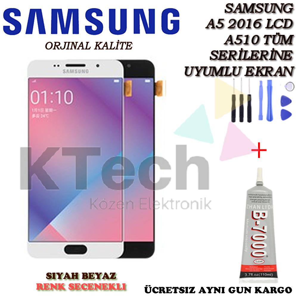 Samsung Galaxy A5 A510 2016 LCD Ekran ve Dokunmatik