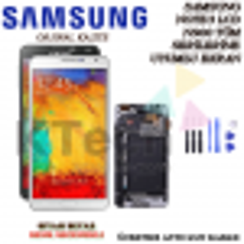 Samsung N900 Note 3 Lcd Ekran Revize Orijinal Full Çıtalı Ekran