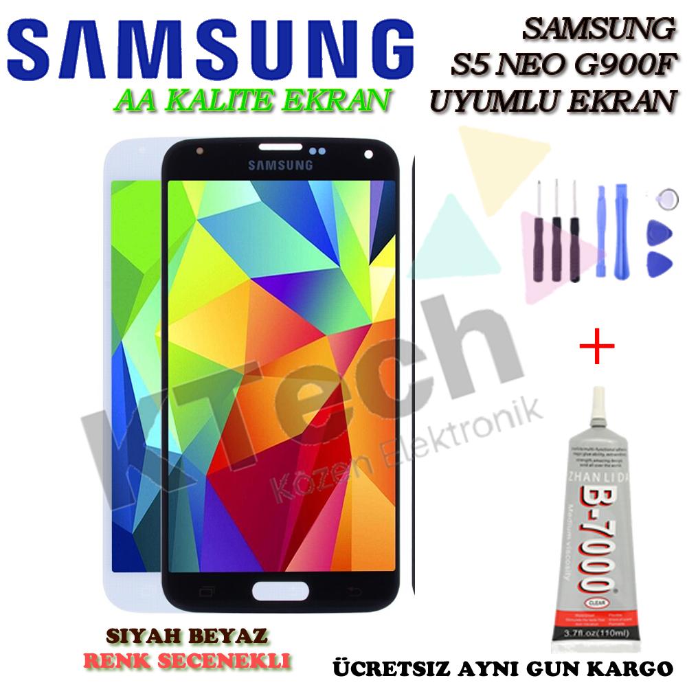 Samsung G900 S5 Lcd Ekran Tft AA Kalite