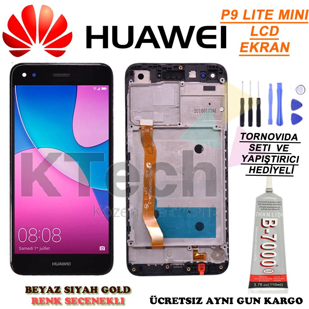 Huawei P9 Lite Mini LCD Dokunmatik Ekran
