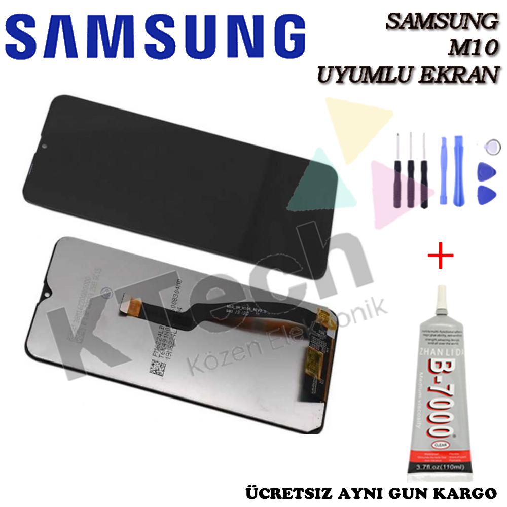 Samsung M10 LCD Ekran  Orjinal Revize