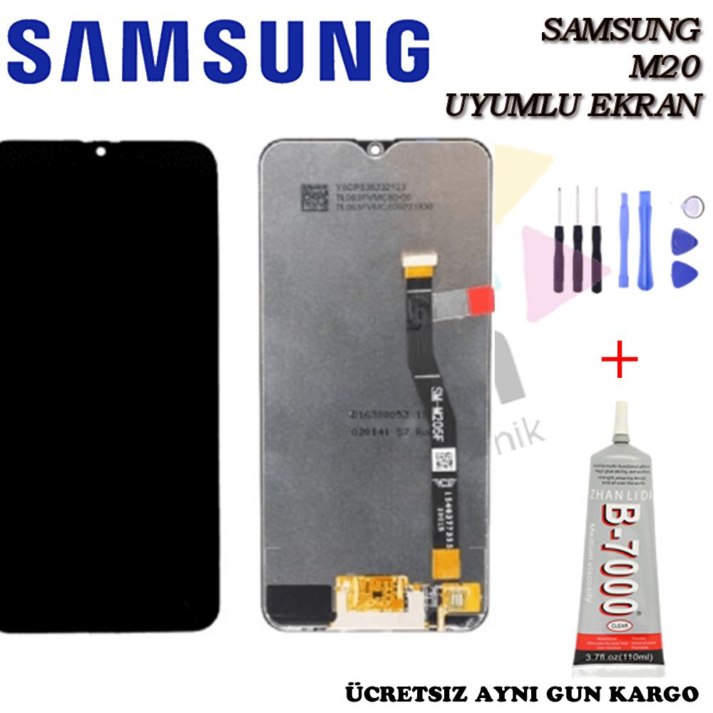 Samsung M20 LCD Ekran Orjinal Revize
