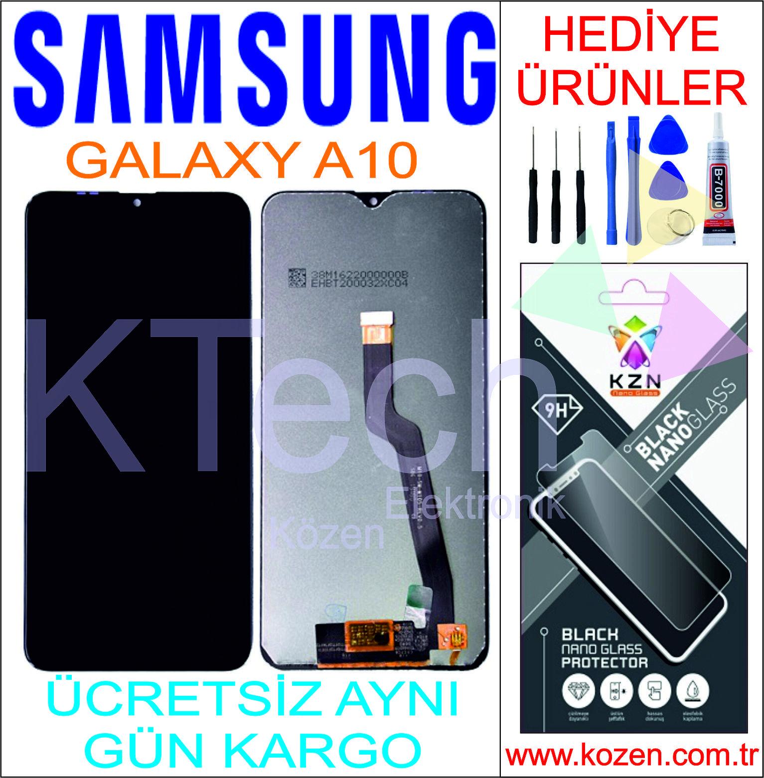 SAMSUNG GALAXY A10 (A105F) LCD DOKUNMATİK ORJİNAL ÇITASIZ SERVİS EKRAN