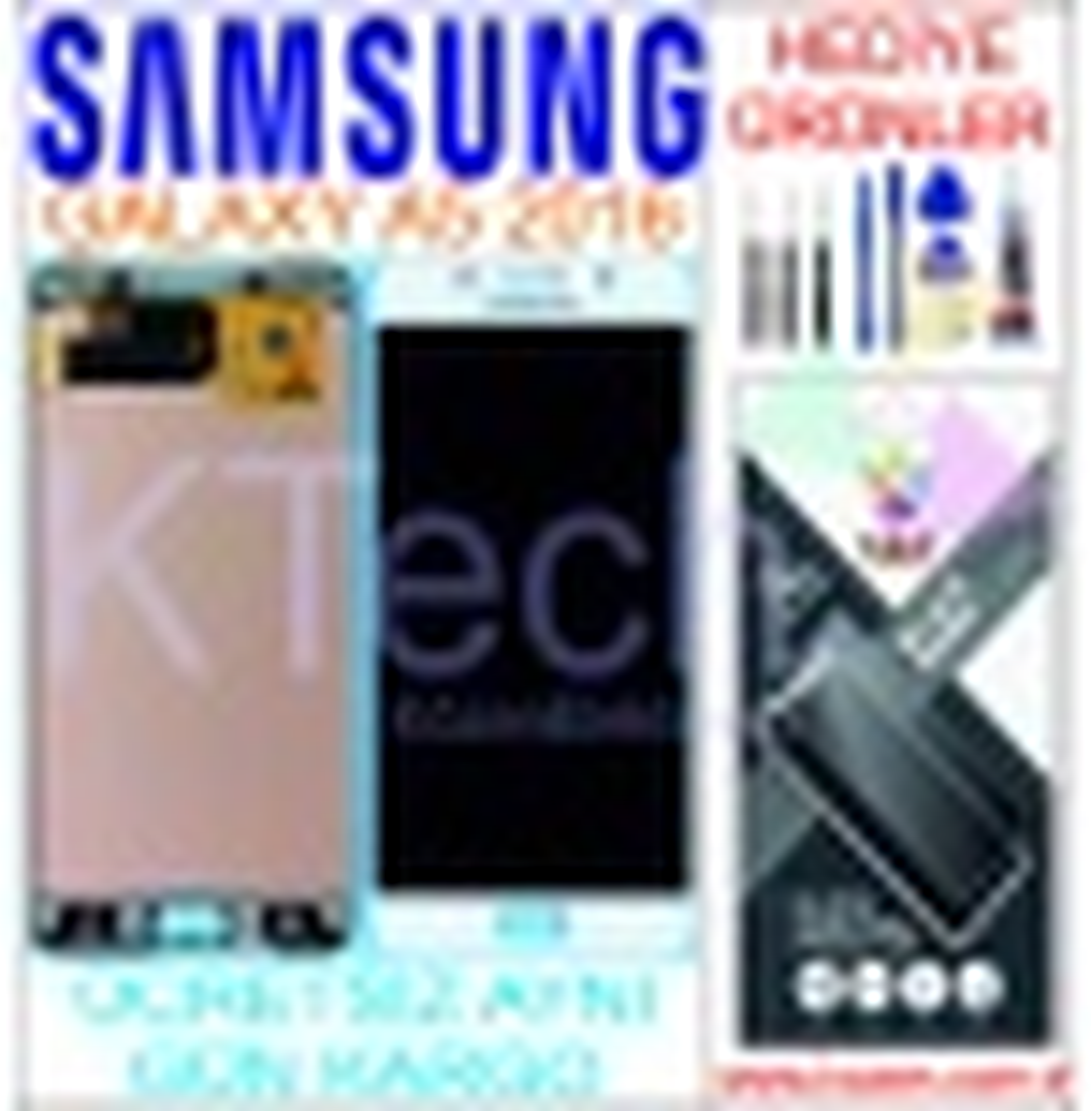 SAMSUNG GALAXY A5 2016 (A510F) LCD DOKUNMATİK ORJİNAL REVİZE EKRAN