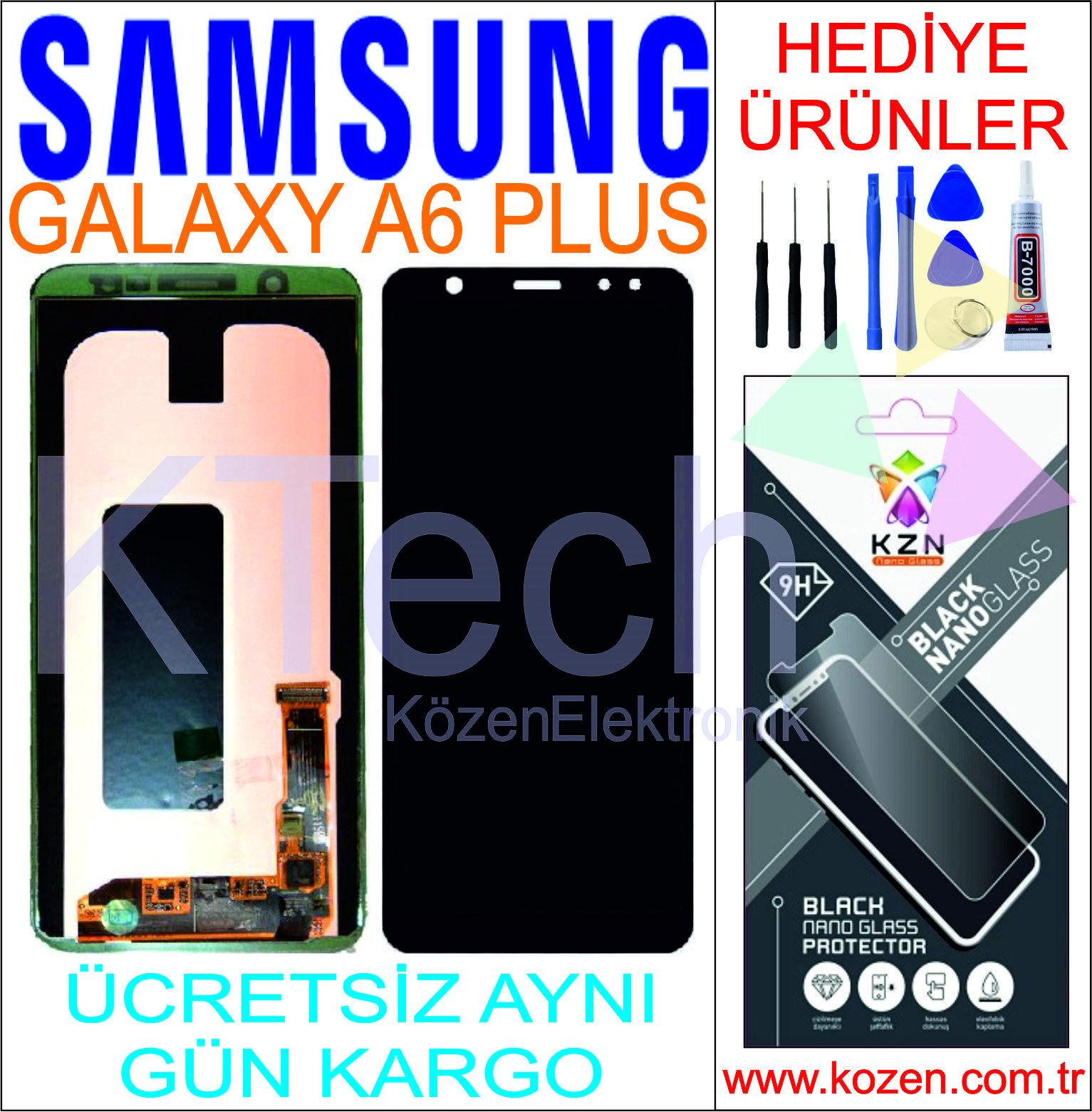 SAMSUNG GALAXY A6 PLUS (A605F) LCD DOKUNMATİK ORJİNAL REVİZE EKRAN