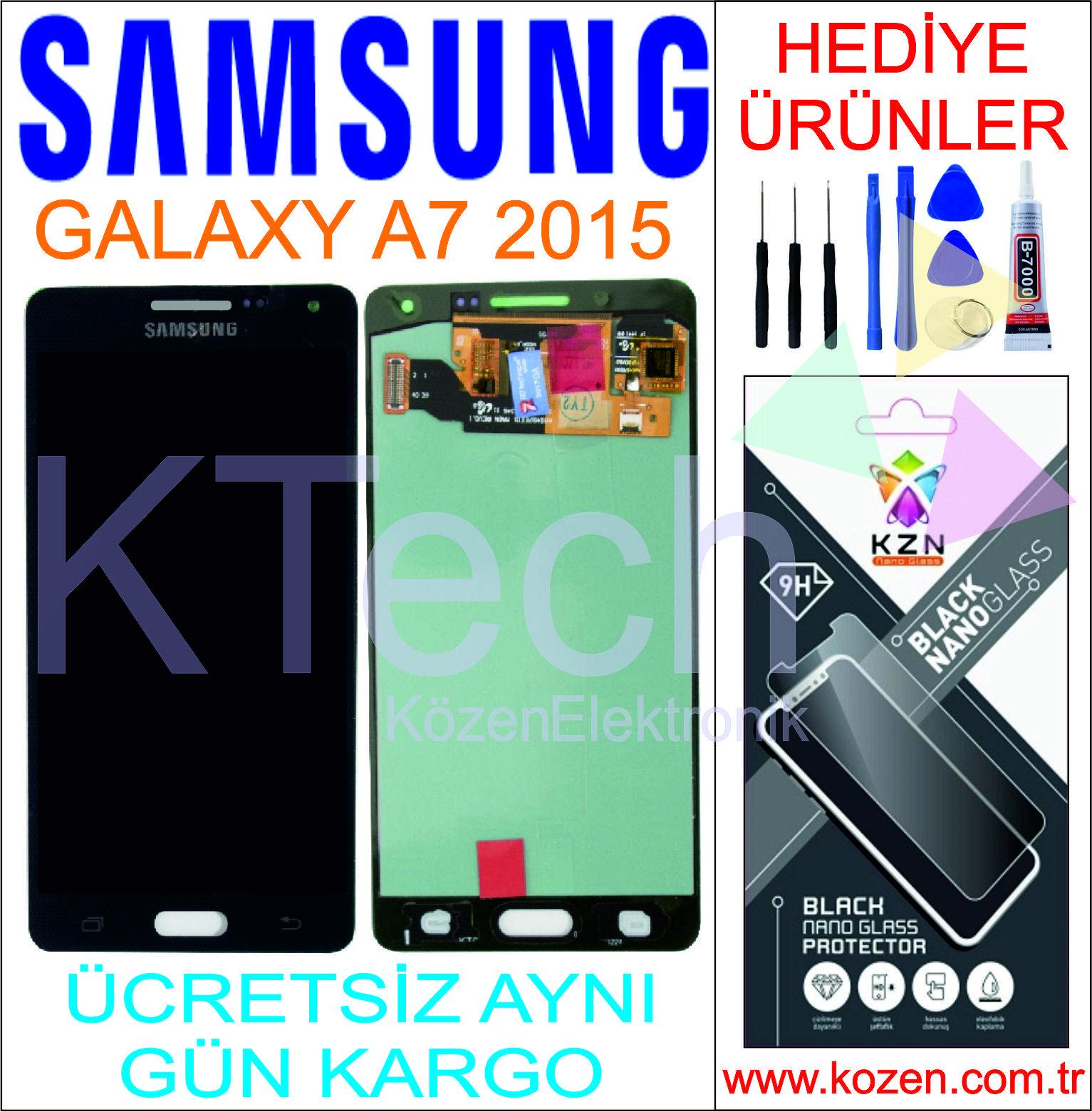 SAMSUNG GALAXY A7 2015 (A700F) LCD DOKUNMATİK ORJİNAL REVİZE EKRAN