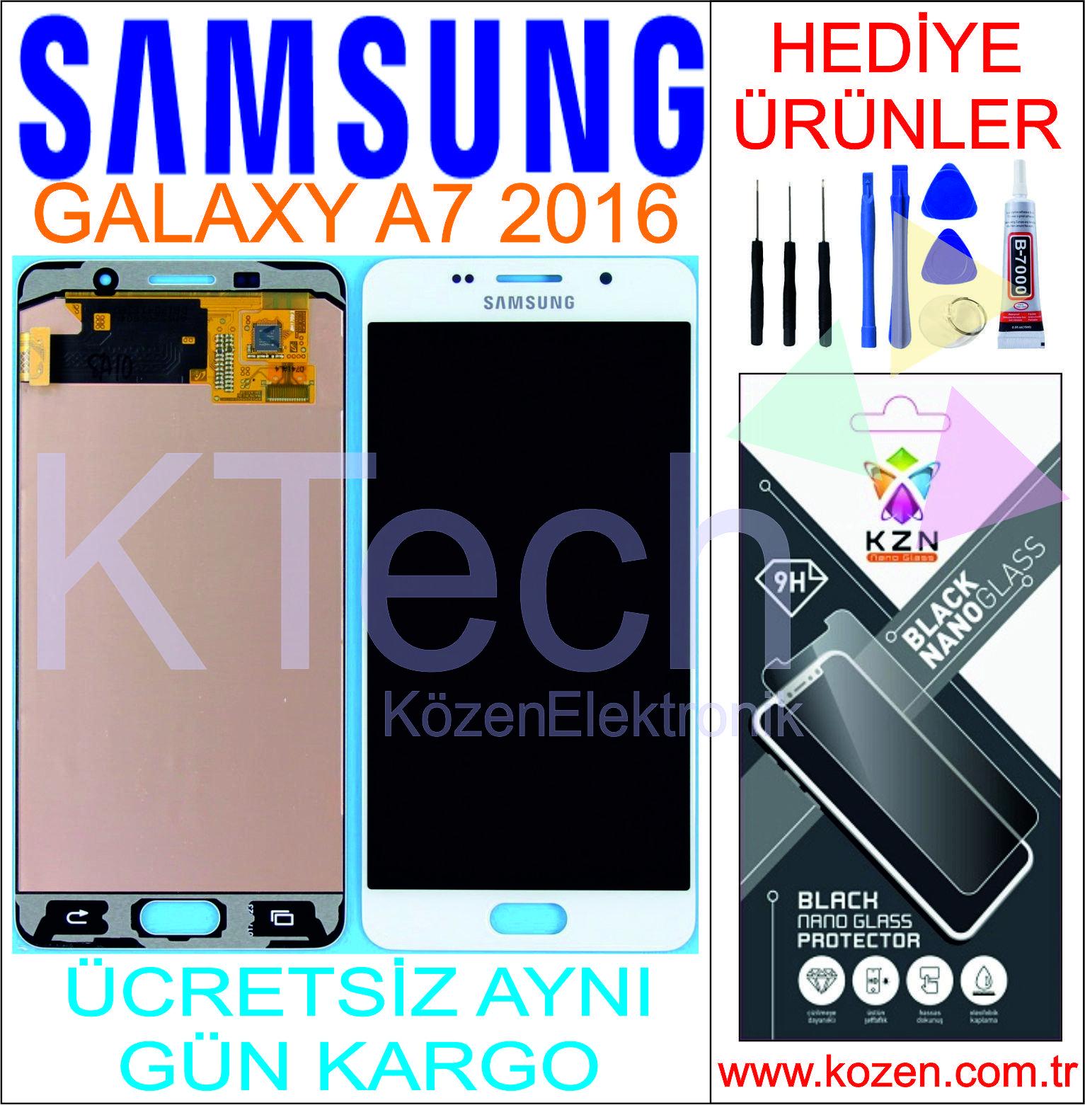 SAMSUNG GALAXY A7 2016 (A710F) LCD DOKUNMATİK ORJİNAL REVİZE EKRAN