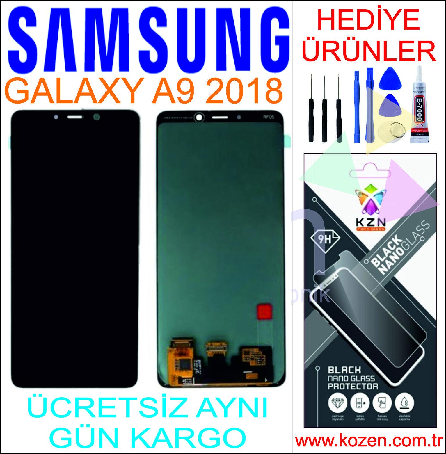 SAMSUNG GALAXY A9 2018 (A920F) LCD DOKUNMATİK ORJİNAL REVİZE EKRAN