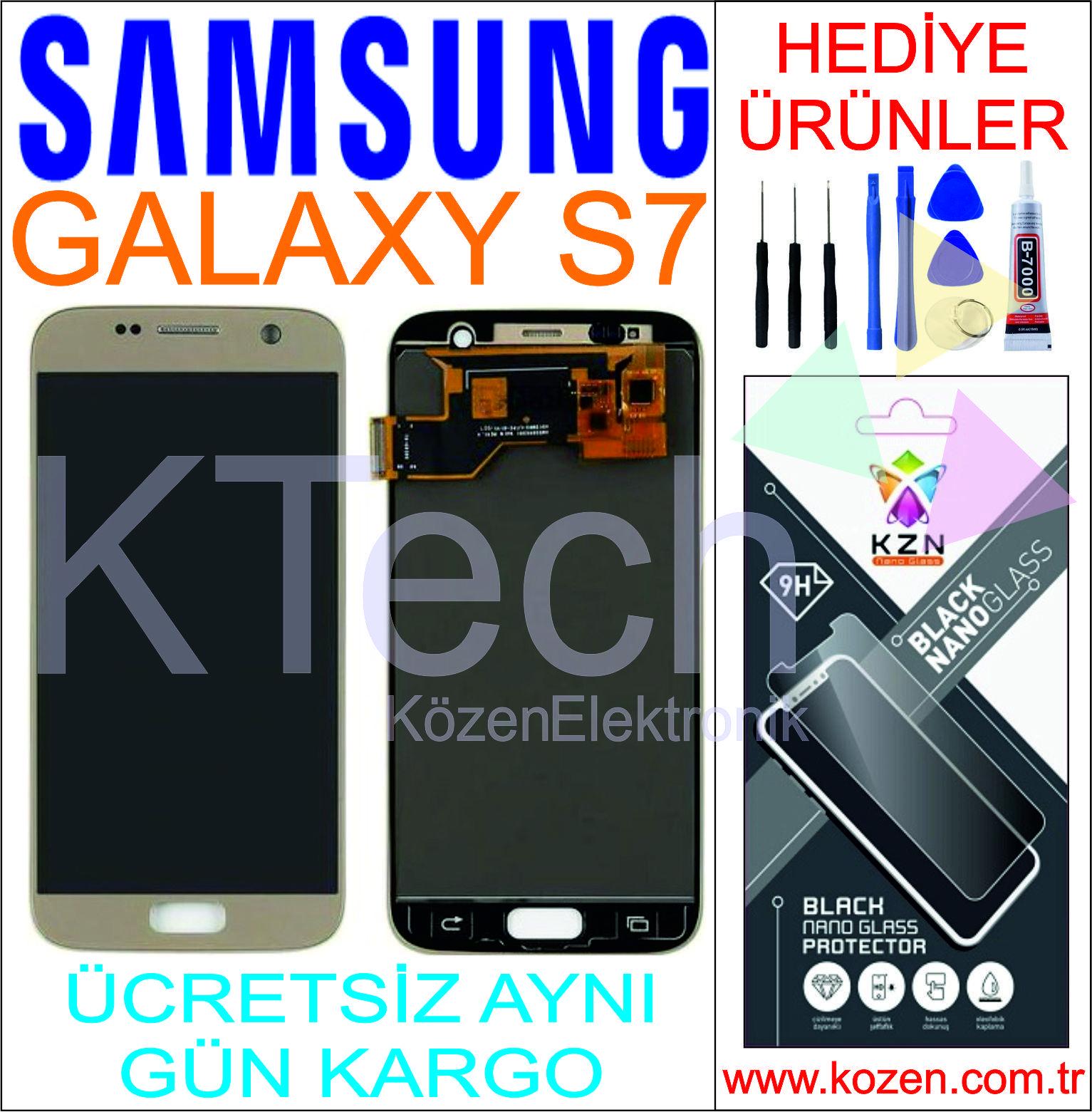 SAMSUNG GALAXY S7 (G930F) LCD DOKUNMATİK ORJİNAL REVİZE EKRAN