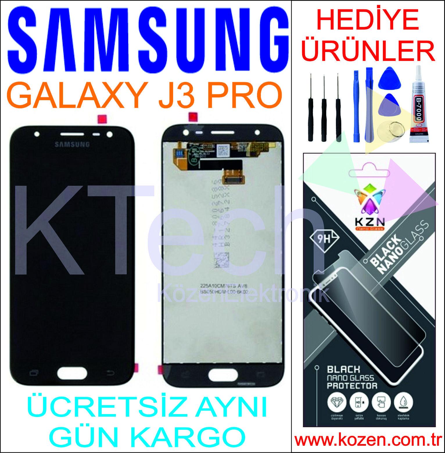SAMSUNG GALAXY J3 PRO (J330F) LCD DOKUNMATİK ORJİNAL REVİZE EKRAN