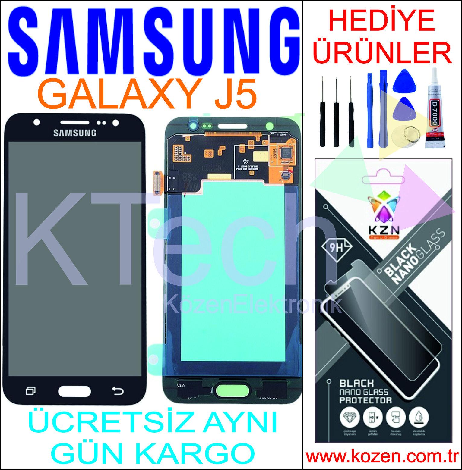 SAMSUNG GALAXY J5 (J500F) LCD DOKUNMATİK ORJİNAL REVİZE EKRAN
