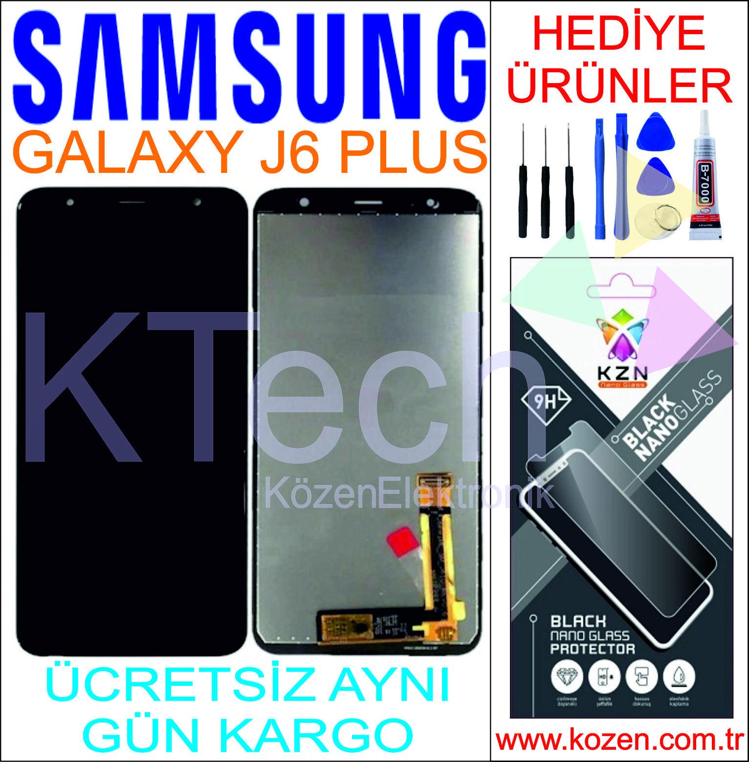 SAMSUNG GALAXY J6 PLUS (J615F) LCD DOKUNMATİK ORJİNAL REVİZE EKRAN