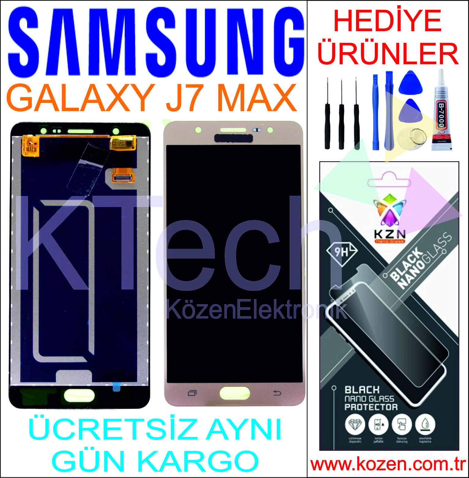 SAMSUNG GALAXY J7 MAX (G615F) LCD DOKUNMATİK ORJİNAL REVİZE EKRAN