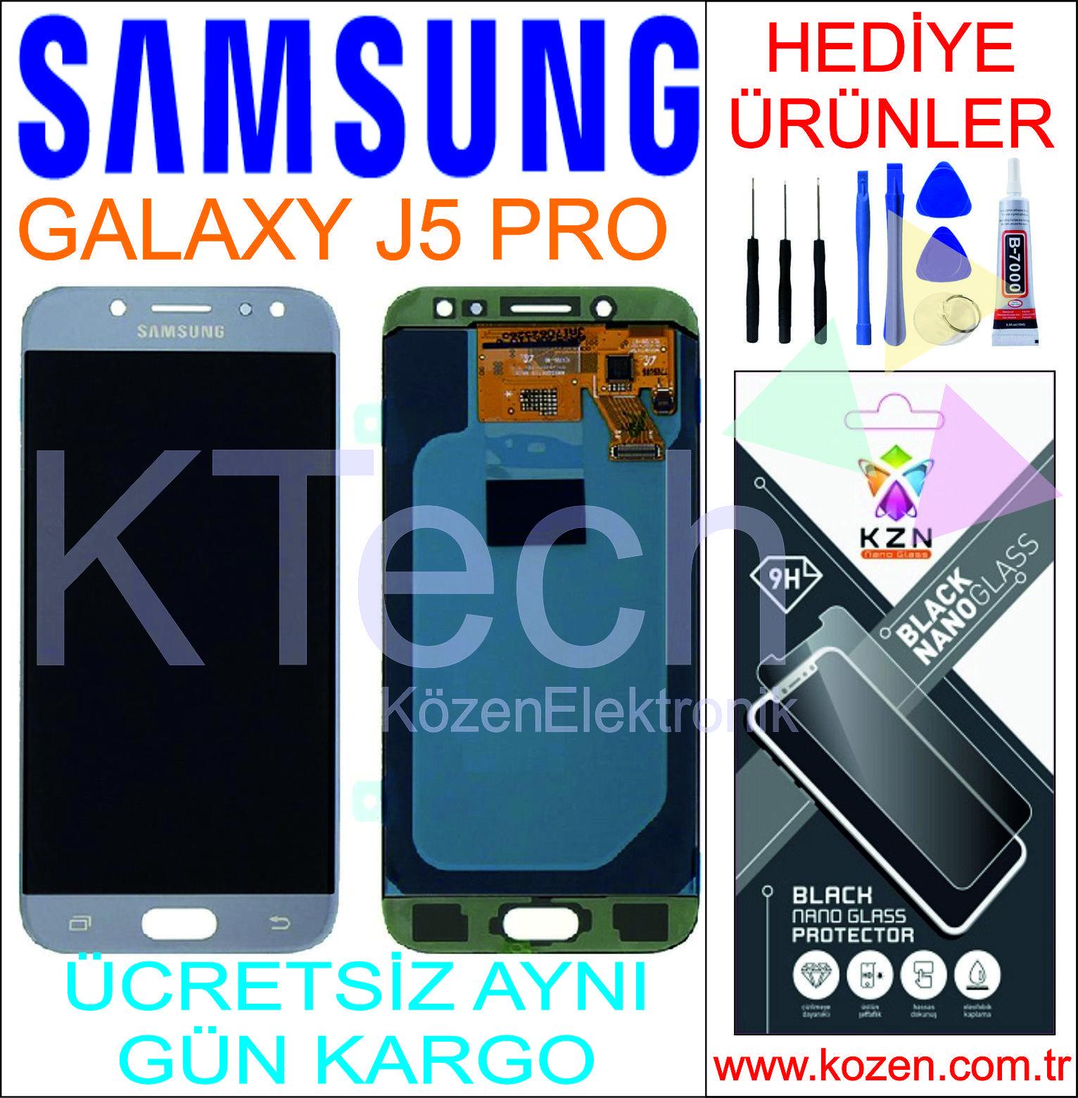 SAMSUNG GALAXY J5 PRO (J530F) LCD DOKUNMATİK ORJİNAL REVİZE EKRAN
