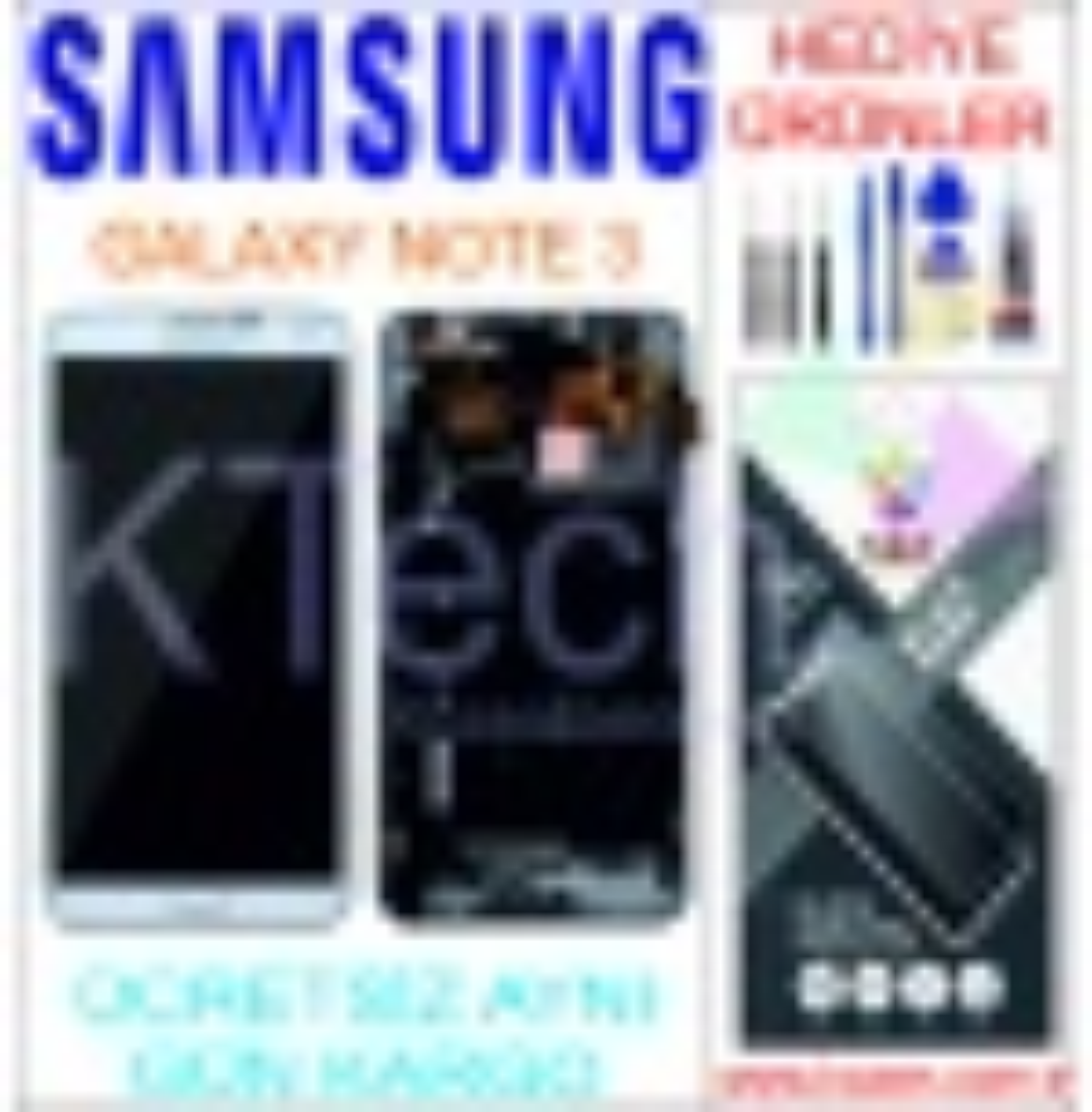SAMSUNG GALAXY NOTE 3 (N900Q) LCD DOKUNMATİK ORJİNAL REVİZE EKRAN