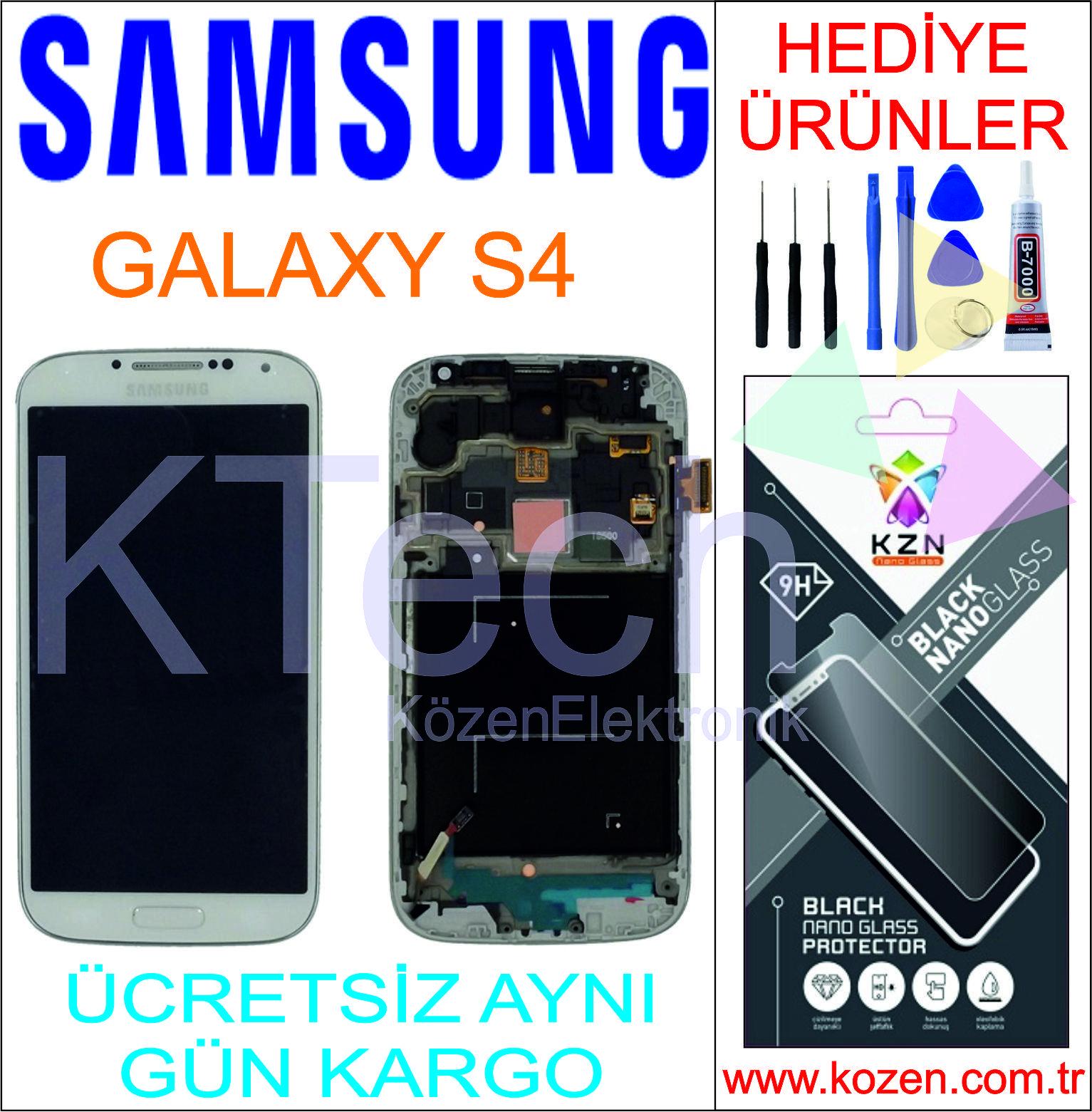 SAMSUNG GALAXY S4 (İ9500) LCD DOKUNMATİK AA KALİTE EKRAN